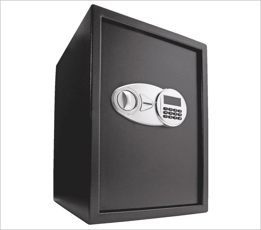 large dark safe
